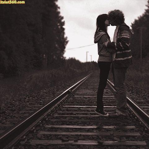 Hình ảnh về tình yêu đẹp lãng mạn nhất, hôn nhau