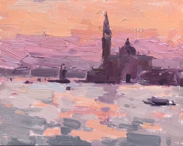 #376 Time Lapse Video – 'Dawn, San Giorgio Maggiore' 8×10″