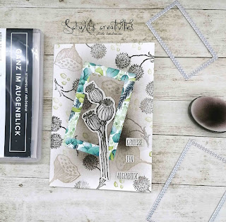 Stempelset Ganz im Augenblick, Designerpapier Ewiges Grün, Blending Pinsel