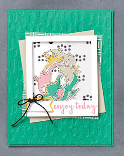 Stampin' Up! Pieces & Patterns Card Ideas ~ 2017-2018 Annual Catalog
