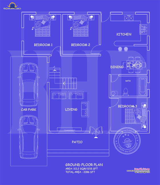 Ground floor blueprint year 2017