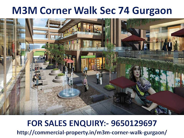 M3M Corner Walk Sec 74 Gurgaon
