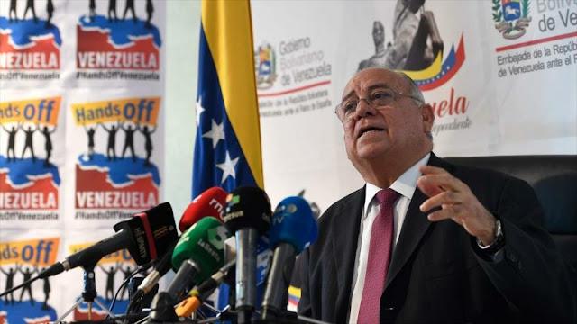 Venezuela denuncia 'guerra total' de EEUU para tumbar a Maduro