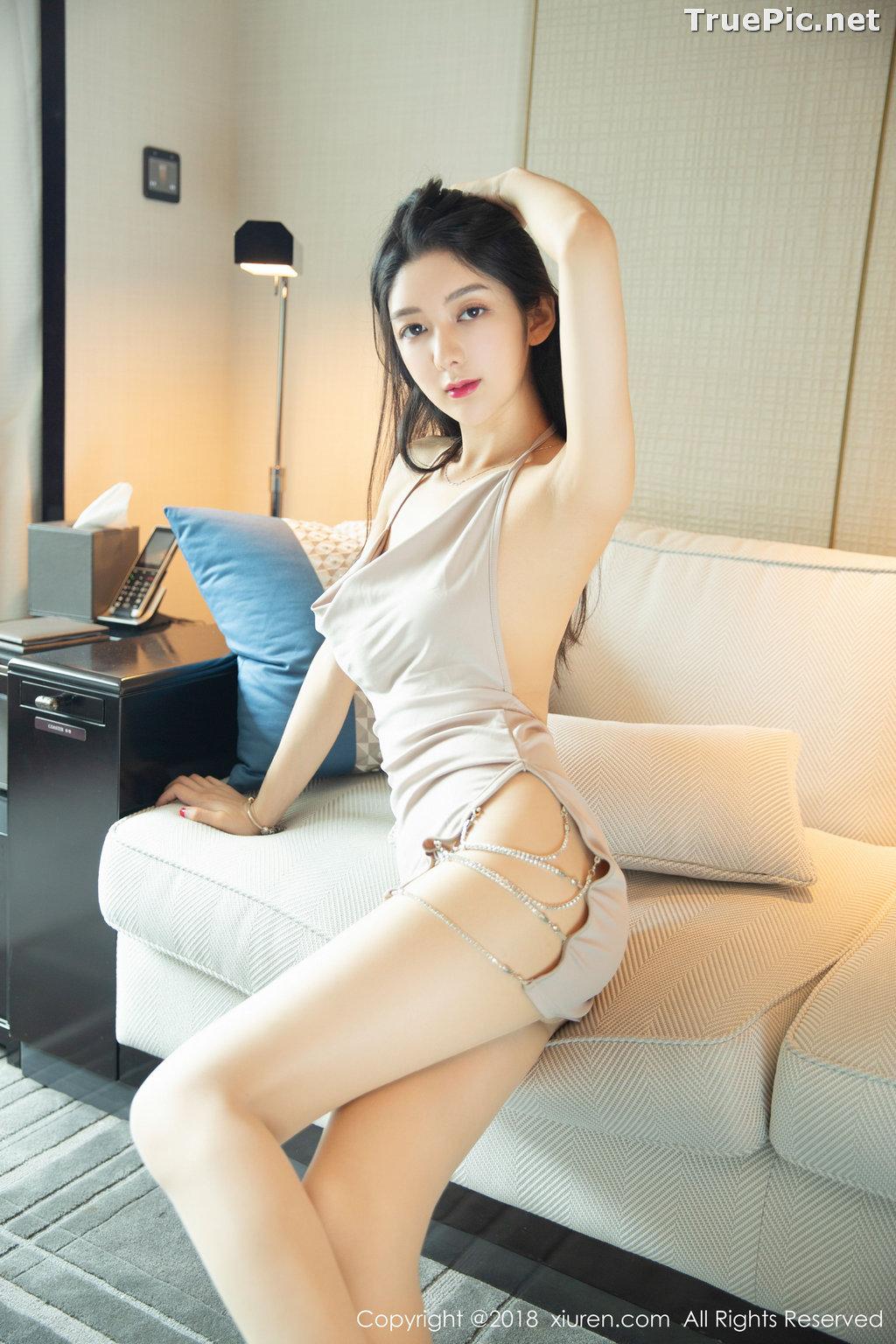 Image XIUREN No.1141 - Chinese Model - Xiao Reba (Angela小热巴) - Sexy Dress Tonight - TruePic.net - Picture-20