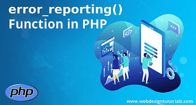 PHP error_reporting() Function