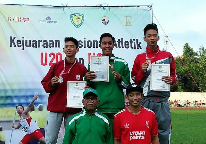 Siswa SMA Muhammadiyah 8 Cerme Raih Medali Emas di Kejurnas Atletik