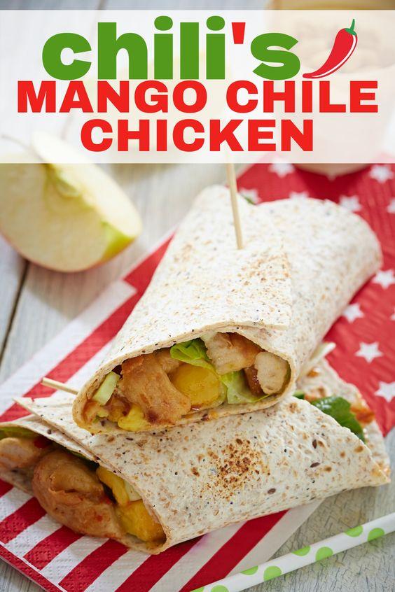 Copycat Chili's Mango Chili Chicken