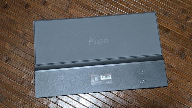 pixioモバイルモニター裏側写真