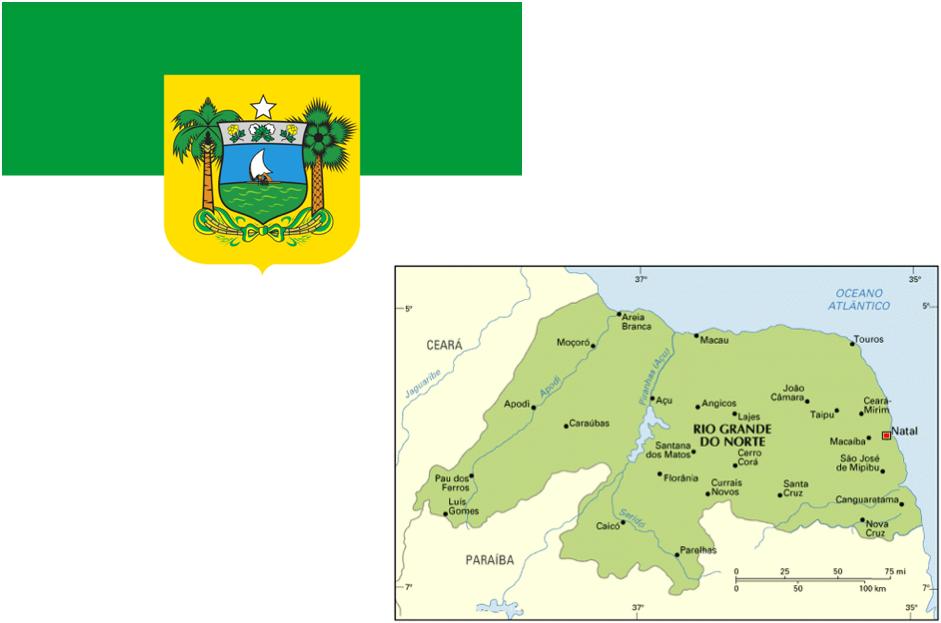Rio Grande do Norte - Mapa