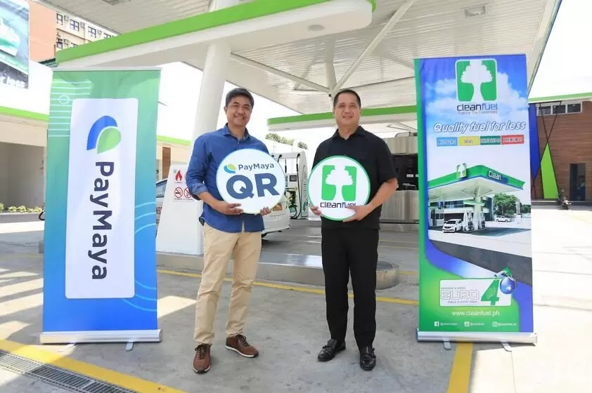 Cleanfuel partners with PayMaya to provide motorists with cashless convenience on the go