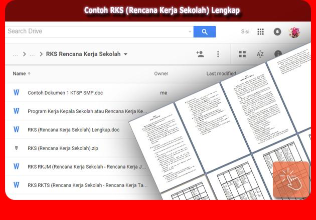 Aplikasi Program Kerja Kepala Sekolah(RKKS) Versi Terbaru