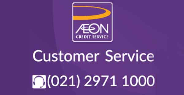 nomor kontak telepon aeon customer service
