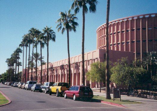USA - AMERICAN UNIVERSITIES: Arizona University Campus