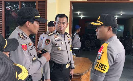 Karo SDM Polda Sulsel, Pantau Situasi Pasca Pilgub Di Selayar