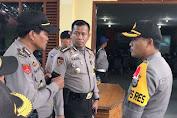 Karo SDM Polda Sulsel Pantau Situasi Pasca Pilgub Di Selayar