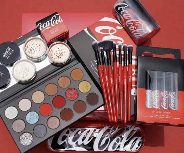 Morphe x Coca Cola kolekcja