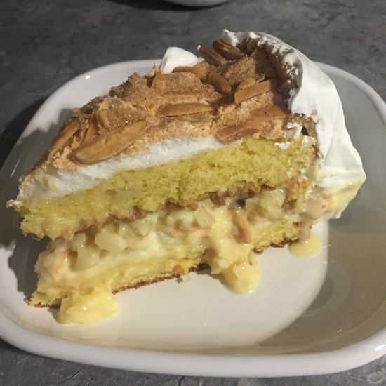 Swedish Almond Cream Cake
