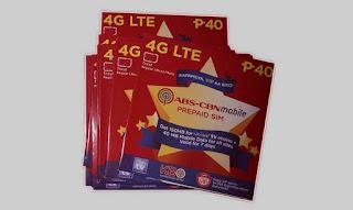 ABS CBN Mobile LTE Prepaid SIM