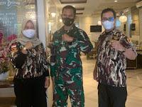 PD V GM FKPPI Jamu Kodim 0415/Batanghari Sebagai Rasa Syukur HUT TNI ke 75