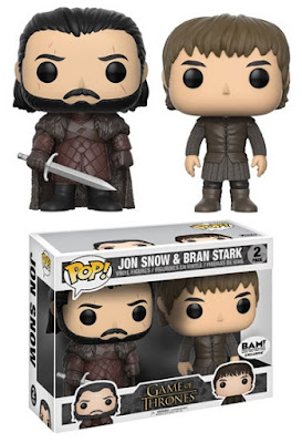 Books-A-Million Exclusive Game of Thrones Jon Snow & Bran Stark Pop! Vinyl Figure 2 Pack by Funko