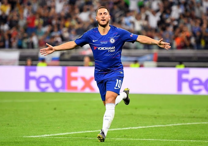 Eden Hazard hints at Chelsea return when he finishes his Real Madrid career.