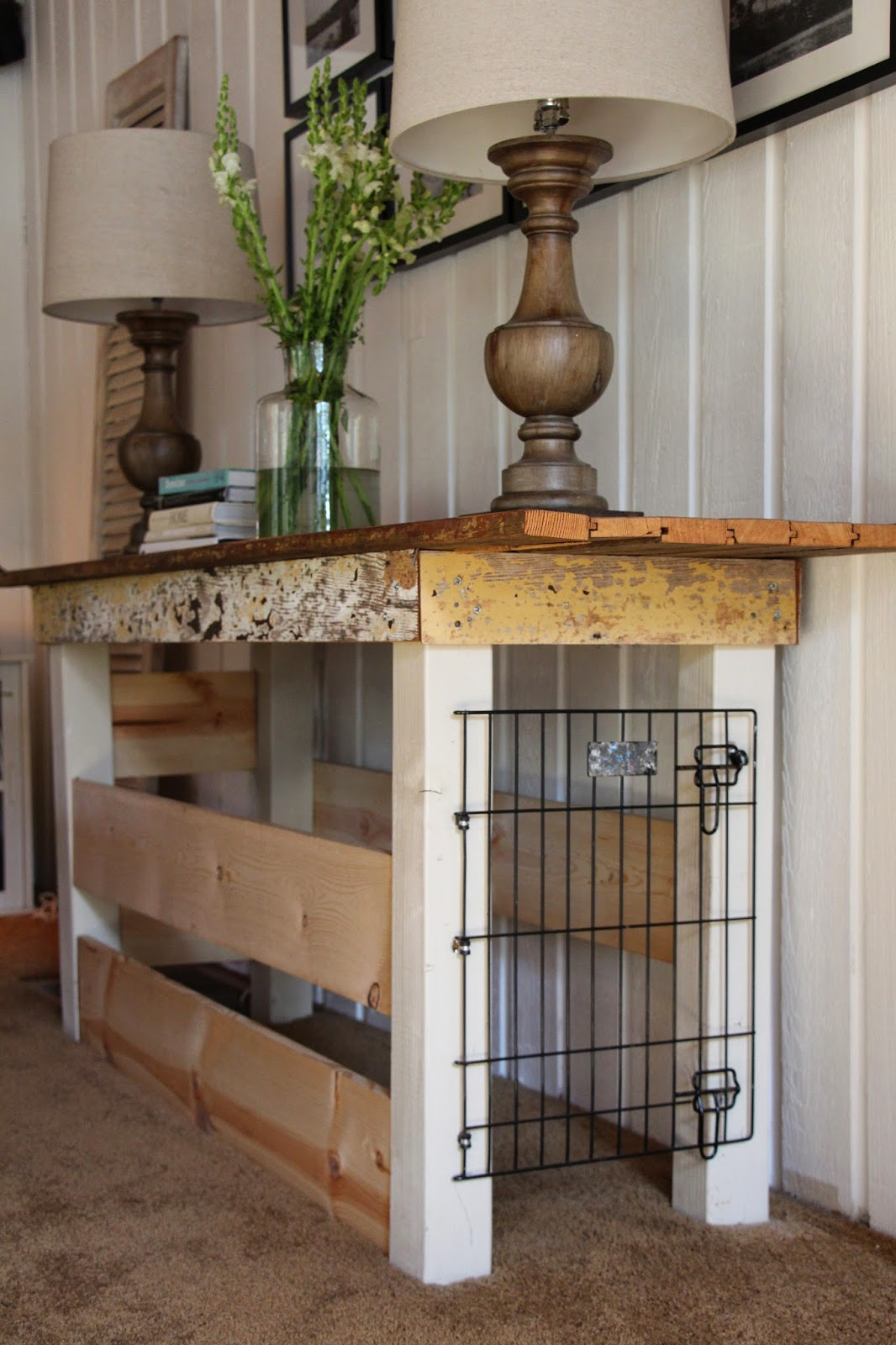 Do You Remember This Console Table Behind Our Couch
