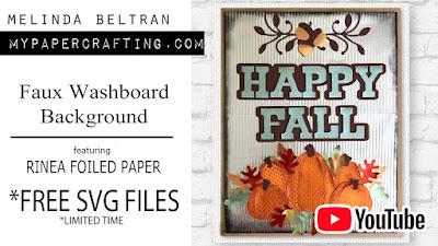 Melinda Beltran Fall How To Home Decor DIY Video Free Files