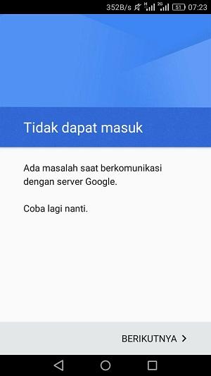 Memperbaiki Hp Android yang Tidak Bisa Menambahkan Akun Gmail