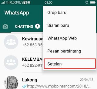 Cara Menghemat Kuota Pada WhatsApp