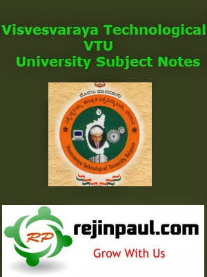 VTU CSE Notes - VTU CSE 1st 2nd 3rd 4th 5th 6th 7th 8th Semester