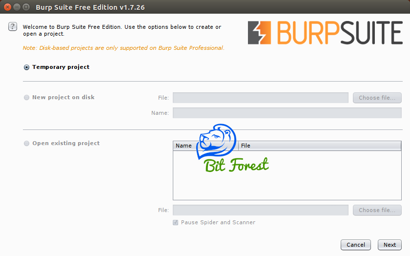 how to configure burpsuite with firefox?