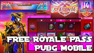 Pubg mobile season 14 Royale pass 1 to 100 rewards 0.19.0 update