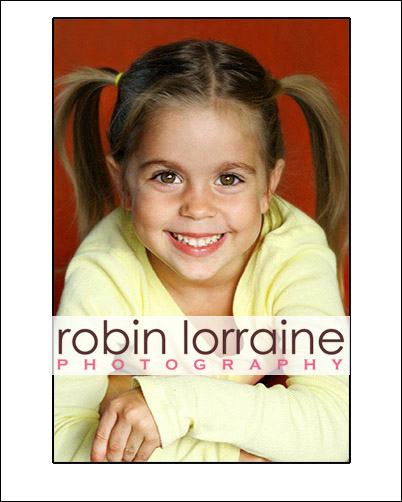 Adorable Kids Headshot With A Child Actress This Is Used For Commercial Castings