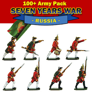 Seven Years War Russian Army Pack deal.