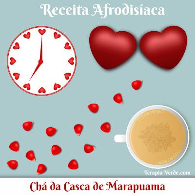 Receita Afrodisíaca: Chá da Casca de Marapuama