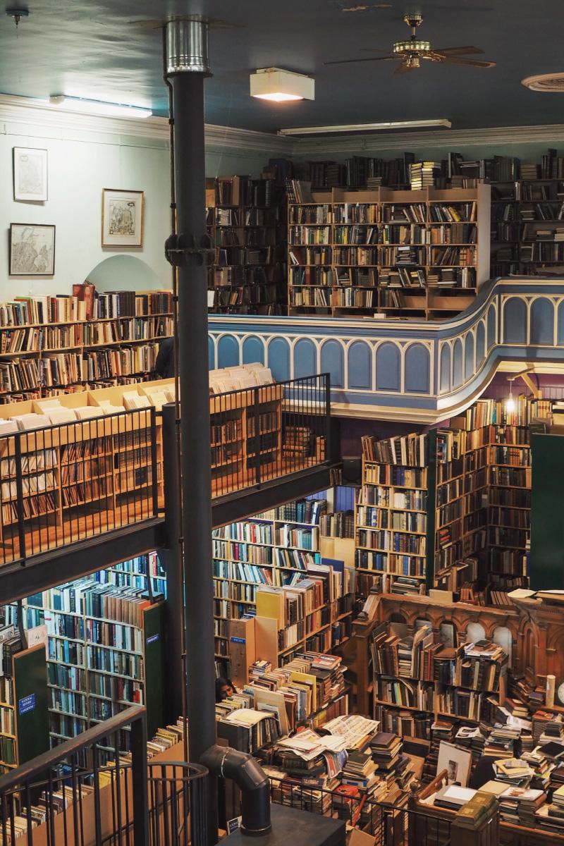 Librairie Leakey's Bookshop - livres et estampes anciens