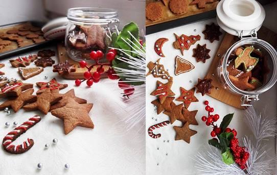 ciasteczka piernikowe jako prezent świąteczny