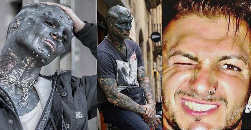 Anthony Loffredo black alien
