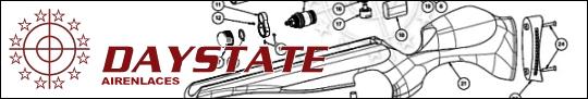 Daystate lista de partes, Daystate Airguns Diagrams