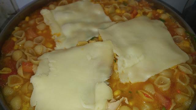 Pasta con queso