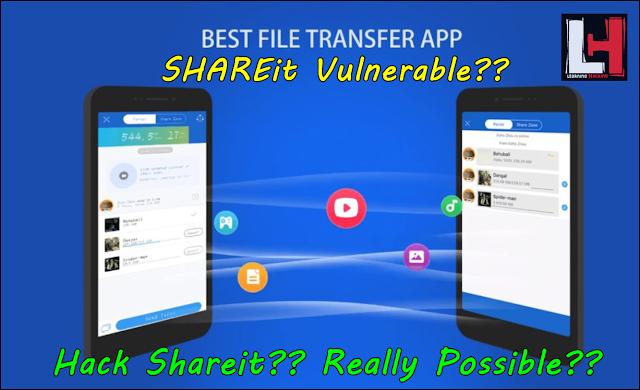 Shareit vulnerability