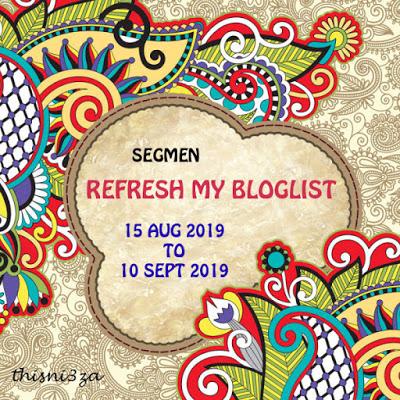SEGMEN : REFRESH MY BLOGLIST