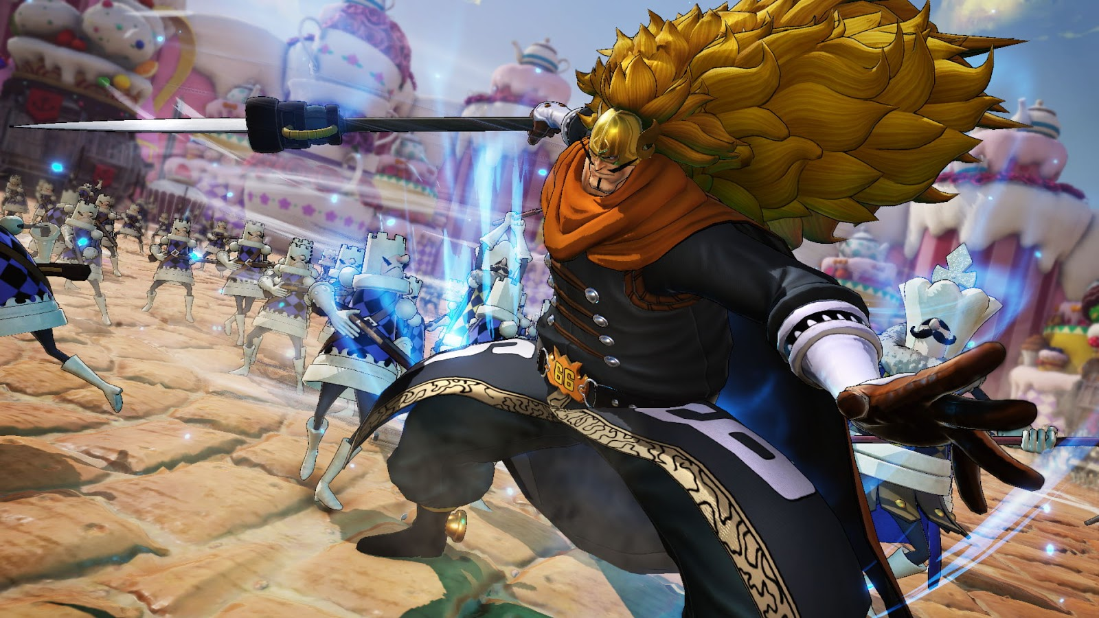 Gameplay de Vinsmoke Judge en ONE PIECE: PIRATE WARRIORS 4 revelado