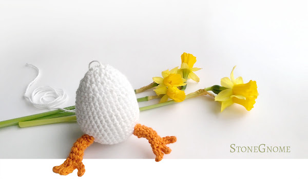 Crochet Easter Egg - Junior