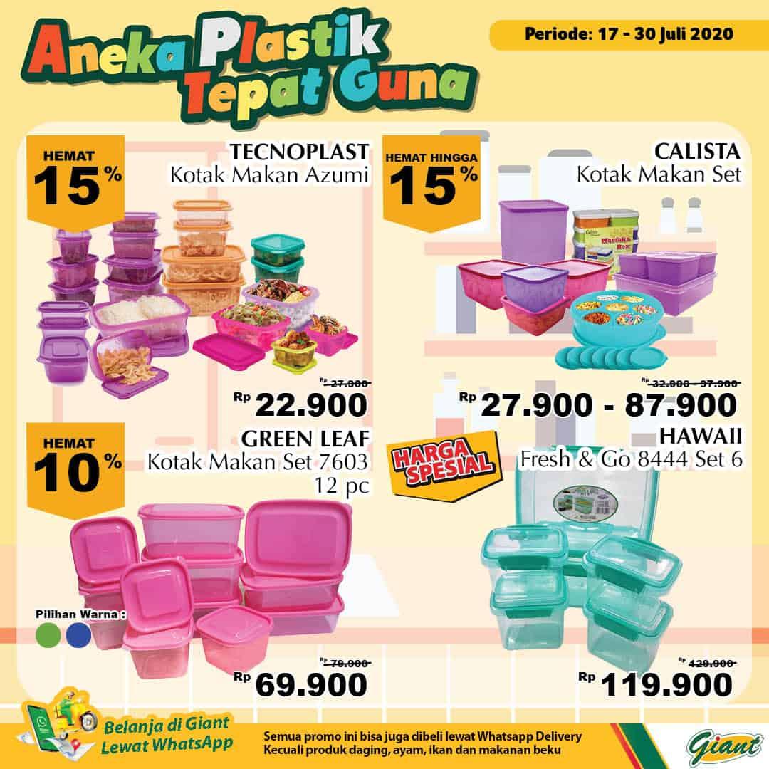 Giant GMS Promo Aneka Plastik Tepat Guna Periode 17 - 30 Juli 2020 1