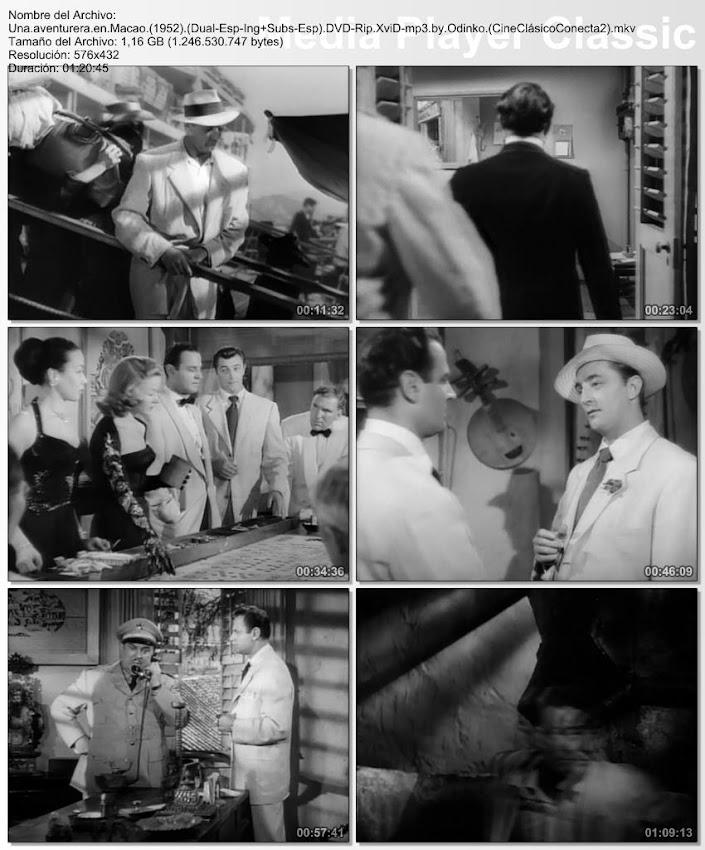 Imagenes de la película: Una aventurera en Macao | 1952 | Macao