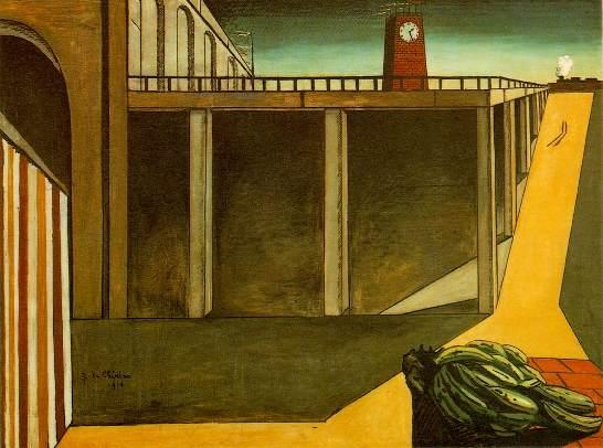 Pittura di Giorgio De Chirico