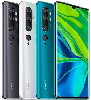 الهاتف ذات الكاميرا الخارقة Xiaomi Mi Note 10