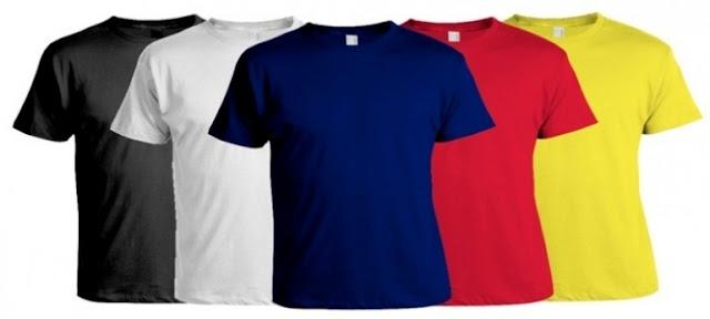 Untung Besar dengan Usaha Jual Baju Kaos Polos
