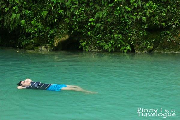 My cousin back floating in Batlag